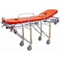 Cheap Hospital Emergency Ambulance Stretcher Trolley Aluminum Alloy Automatic Loading Stretcher ALS-S004 for sale