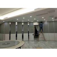 Cheap Fabric Glass Wool Operable Partition Walls Acoustic Mdf Top Gypsum Board for sale