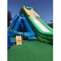 Cheap hippo giant inflatable water slide for kids and adults for sale