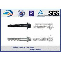 Cheap SS Serie HDG Surface Railway Sleeper Screws 5.6 Grade For Railway Fastener for sale