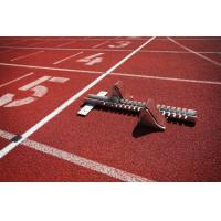 Cheap All Weather EPDM , SBR Rubber Running Track Surface Customized for sale