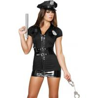 Buy cheap High Quality Halloween Sexy Police Costumes Naughty Patrol Police Officer Costume from wholesalers