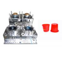 Quality PP PA ABS Plastic Bucket Mould Cold Runner Multi Cavity High Hardness Long Life Time wholesale