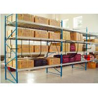 Cheap Conventional 55 Profile Longspan Shelving / Medium Duty Shelving 200-800 Kg Load Capacity for sale