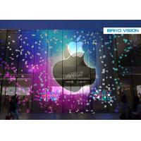 Cheap Decorative, Full Color, Customized Transparent LED Display Screen for Shopping Mall for sale