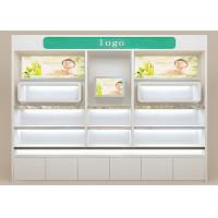 China Eco Friendly Wooden Cosmetic Store Furniture Stable Structure For Terminal Stores on sale