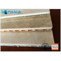 Buy cheap Edge Open Marble Stone Panels Aluminum Honeycomb Panels Customized Specification from wholesalers