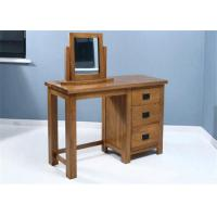 Cheap Small Mirrored Solid Wood Dressing Table Modern Style Color Optional For Fanily for sale