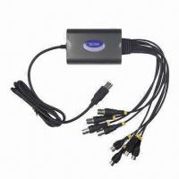 China USB 4/8 Channels Video and Audio Real-time Network CCTV DVR Capture Card Recording Security 120Fps on sale