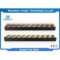 Buy cheap Uniqscan High Security Buried Parking Lot Tire Spikes / Spike Strips For Cars from wholesalers