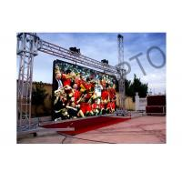 Cheap Large High brightness Outside LED Stage Curtain Screen SMD3535 For Concerts for sale
