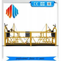 Cheap Galvanized steel zlp 1000 suspended platform/ cradle/ swing stages wholesale