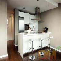 Buy cheap High Gloss Kitchen Cabinet White Color Kitchen Cupboard from wholesalers