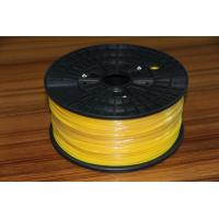 Cheap 3D Color Printer 3mm PLA 3D Printer Filament Yellow For 3D Printing Machine for sale