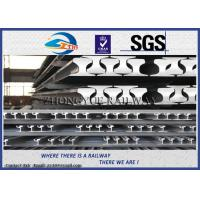Quality Light Steel Crane Rail / Overhead Crane Track , GB11264-89 Standard wholesale