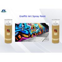 Cheap Fast Drying Acrylic Art Graffiti Spray Paints 400ml Female Valve and Low / High Pressure for sale