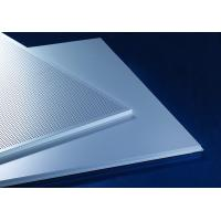 Cheap Acoustic Lay-In  Aluminum Metal Ceiling 600x600mm Prevents The Heat Loss Recycling for sale