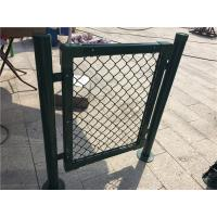 Cheap Chain Link Metal Mesh Fencing Standard Stadium Fence For Basketball Count for sale