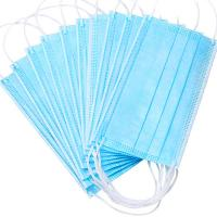 Cheap Nonwoven Anti Dust 3ply Civil Disposable Nose Mask for sale