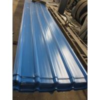 Cheap 1500 - 3800mm Length JIS G3322 CGLCC, ASTM A792 Prepainted Corrugated Steel Roof Sheets for sale