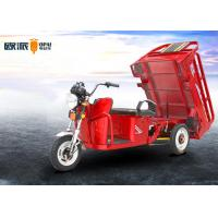 China Pure Copper Brushless Electric Cargo Trike With Pedal 18 Pipes Controller on sale