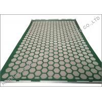 China 1050 x 695mm Shaker dewatering screens L Hookstrip Bonded Layers API Standard on sale