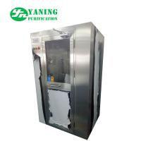 Cheap Stainless Steel Air Shower Clean Room Equipment 62dB Noise For Class 100 Clean Room for sale
