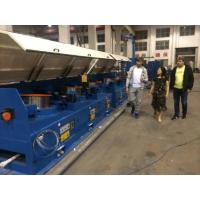 Cheap 1200m / Min 560mm Straight Line Wire Drawing Machine With Full Immersed Lubricant System wholesale