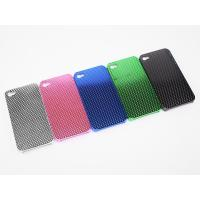 Cheap Shiny fishnet coating iphone protective fishnet cases For iPhone 4 with different colors for sale