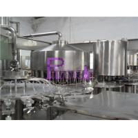 Cheap Automatic Monoblock Pulp Juice Filler , Three In One Filling Machine for sale