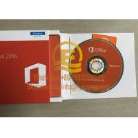 Cheap Office 2016 Professional Retail Genuine  DVD Box for Windows PC Product Key Card Full Version wholesale