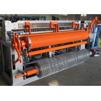 Cheap Heavy Auto Welded Wire Mesh Machine For Fencing Roll 1m-2.3m Mesh Width for sale