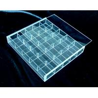China clear acrylic divider box for storage on sale