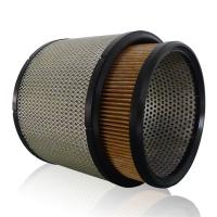 Cheap AAF Noil Inlet / Outlet Large 20 Micron Filter Cartridge , Any Size Pleated Media Filter for sale