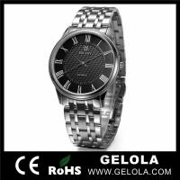 Cheap Luxury Quartz Stainless Steel Watch for sale