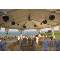 Cheap Team Outdoor Party Tents , Fire Resistant Commercial Backyard Tents For Parties for sale