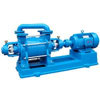 China Double Stage Water Liquid Seal Vacuum Pump Smooth Running For Sucking Air on sale