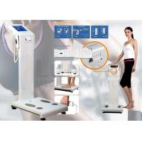 Cheap Two Frequency Body Composition Analyzer Fat Analysis Machine with Computer Software and Thermal Printer Inside for sale