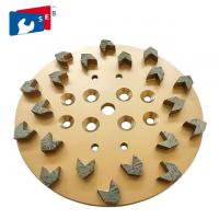 Cheap Dry Grinding Arrow Diamond Cup Wheel with Alloy Material for Concrete Floor for sale