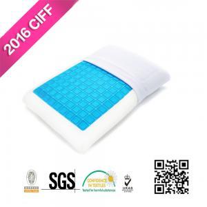 Cheap Sleep Cool Cooling Gel Reversible Memory Foam Loft Pillow For Neck Pain | MEIMEIFU MATTRESS for sale