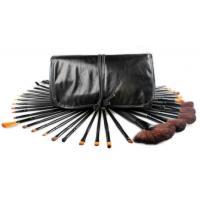 Buy cheap Domed Bronzer Cosmetic Brush Sets 32pcs With liquid foundation brush from Wholesalers