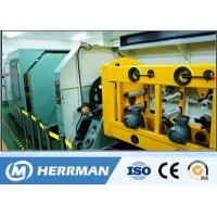 Cheap High Speed Ribbon Fiber Optic Cable Production Line With Four / Six / Twelve Fibers for sale