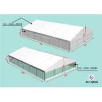 Buy cheap Soundproof 20x30m Aluminum Frame Tent With ABS SideWall Glass Sidewall from wholesalers