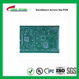Single Layer PCB Design Bare FR4 1.6MM HASLPCB Green Solder Mask