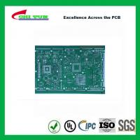 Quality Single Layer PCB Design Bare FR4 1.6MM HASL PCB Green Solder Mask wholesale