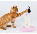 Cheap Durable Flat Cardboard Cat Scratcher , Reversible Cardboard Scratching PadSGS for sale