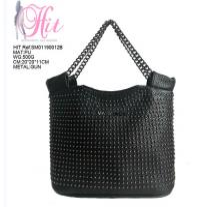 China PU leather Women handbags shoulder crossbody ladies luxury bags with Metal chain belt on sale