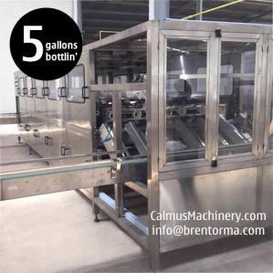 Cheap 1200BPH 5 or 3 Gallon Bottled Water Plant Equipment Water Bottling Machine for sale