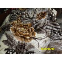 Cheap Winter Printed Breathable Soft Mink Blanket Queen Size With 100% Polyester wholesale