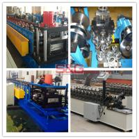 Cheap Fully Automatic Steel Roof Roll Forming Machine , False Ceiling Channel Making Machine for sale